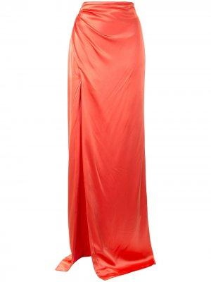 Юбка макси Kaitlyn Cinq A Sept. Цвет: оранжевый