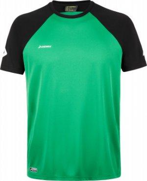Футболка вратарская , размер 52 Demix. Цвет: зеленый