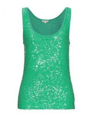 Майка P.A.R.O.S.H.. Цвет: зеленый