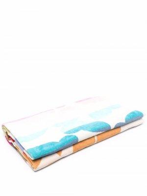 Пляжное полотенце с принтом Missoni Home. Цвет: нейтральные цвета