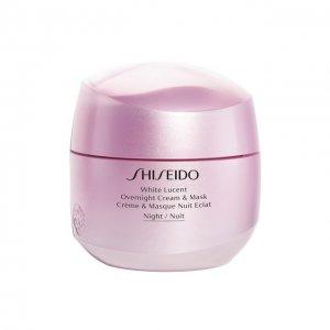Ночная крем-маска White Lucent Shiseido. Цвет: бесцветный