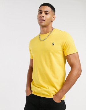 Желтая футболка с логотипом -Желтый Polo Ralph Lauren