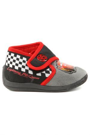 Ботинки CARS. Цвет: серый, черный, красный