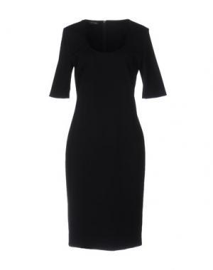 Платье до колена LES COPAINS. Цвет: черный