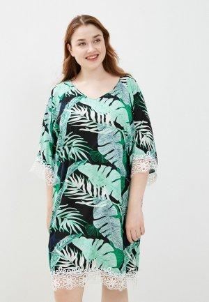 Платье Naturel. Цвет: черный