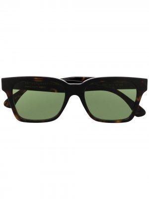 Солнцезащитные очки America Retrosuperfuture. Цвет: коричневый
