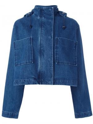 Джинсовая куртка Être Cécile. Цвет: синий