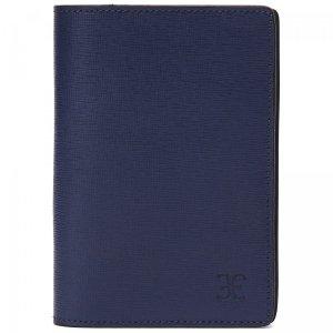 Обложка для паспорта Fabi. Цвет: синий