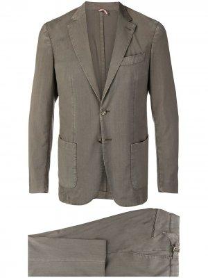 Delloglio костюм-двойка Dell'oglio. Цвет: зеленый