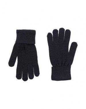 Перчатки TRUSSARDI JEANS. Цвет: темно-синий