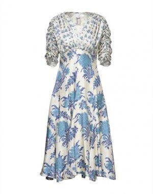 Платье длиной 3/4 ANTONIO MARRAS. Цвет: слоновая кость