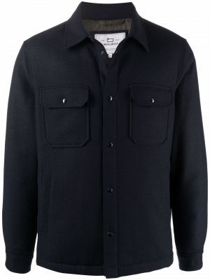 Куртка-рубашка City Alaskan Woolrich. Цвет: синий