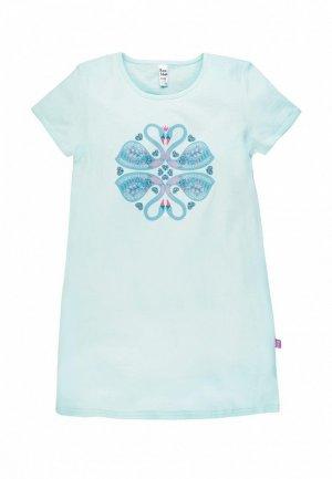 Сорочка ночная Bossa Nova. Цвет: голубой