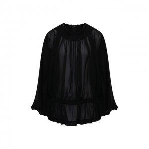 Блузка Comme des Garcons. Цвет: чёрный