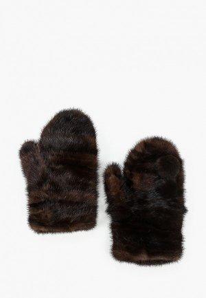 Варежки Mex-Style. Цвет: коричневый