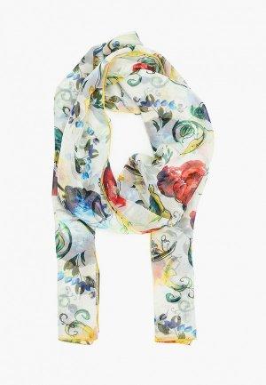 Палантин Dolce&Gabbana. Цвет: белый