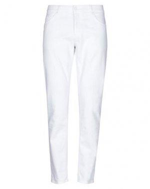Джинсовые брюки DONDUP. Цвет: белый
