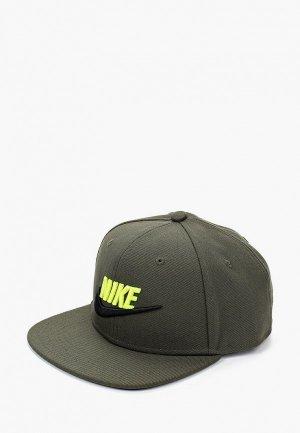 Бейсболка Nike Y NK PRO CAP FUTURA 4. Цвет: хаки