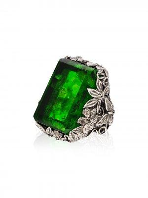 Серебряное кольцо Orsay с кристаллом Lyly Erlandsson. Цвет: серебристый