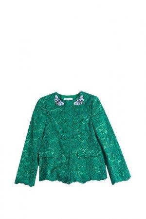 Пиджак DOLCE & GABBANA. Цвет: зеленый