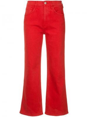 Широкие укороченные джинсы Shelter 3x1