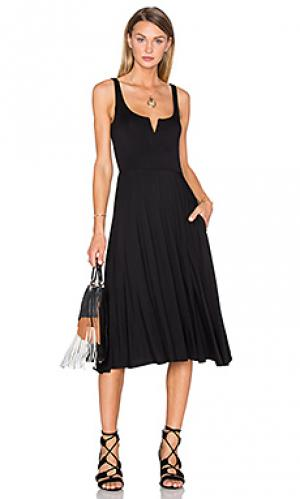 Платье-майка House of Harlow 1960. Цвет: черный