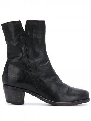 Ботинки на массивном каблуке Fiorentini + Baker. Цвет: черный