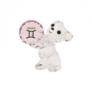 Скульптура Kris bear Gemini Swarovski. Цвет: прозрачный