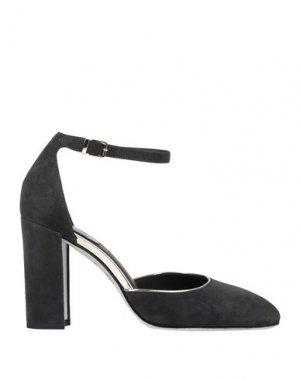 Туфли RENE' CAOVILLA. Цвет: свинцово-серый