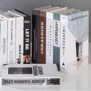 Декоративный объект в форме книги 1шт SHEIN