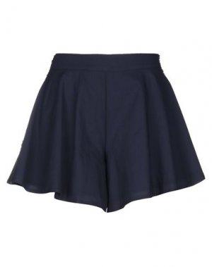 Повседневные шорты MARIUCCIA. Цвет: темно-синий