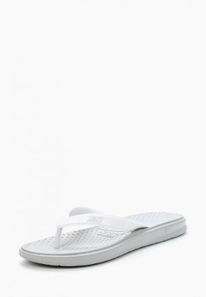 Сланцы Nike Womens Solay Thong. Цвет: белый