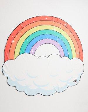Пляжное покрывало с принтом радуги -Многоцветный Big Mouth