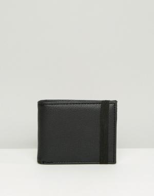 Черный бумажник New Look. Цвет: черный