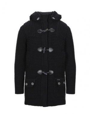 Пальто BARK. Цвет: черный
