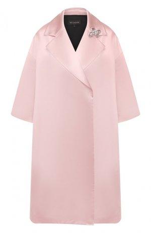 Пальто St. John. Цвет: розовый