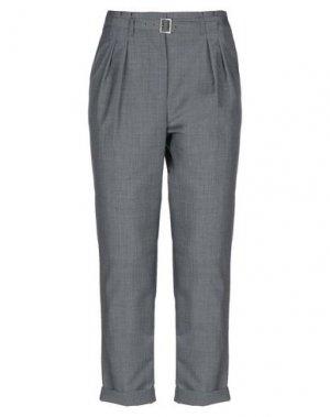 Повседневные брюки PHILOSOPHY di ALBERTA FERRETTI. Цвет: серый