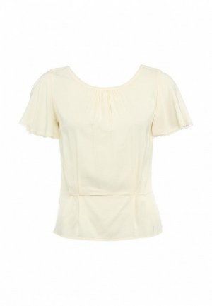 Блуза Axara AX003EWFU581. Цвет: бежевый
