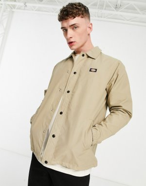 Спортивная куртка цвета хаки Oakport-Зеленый Dickies