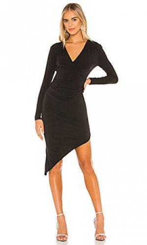 Платье миди cocktail BCBGeneration. Цвет: черный