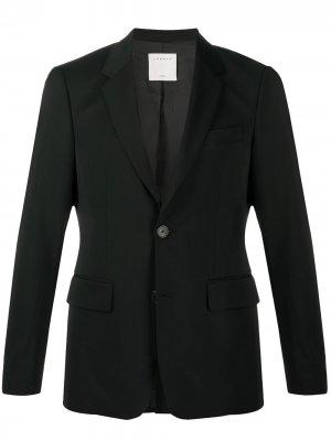 Пиджак строгого кроя Sandro Paris. Цвет: черный