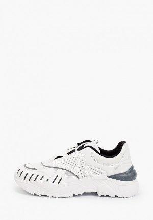 Кроссовки Escan. Цвет: белый