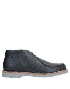 Полусапоги и высокие ботинки BIRKENSTOCK. Цвет: черный
