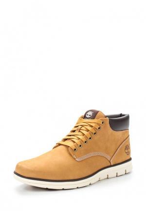 Ботинки Timberland BRADSTREET. Цвет: коричневый