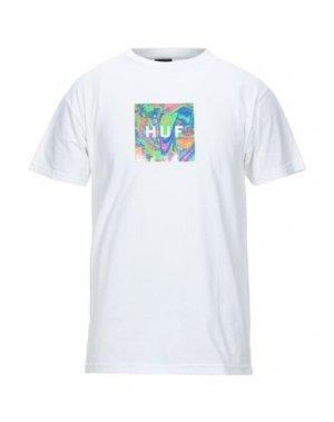 Футболка HUF. Цвет: белый