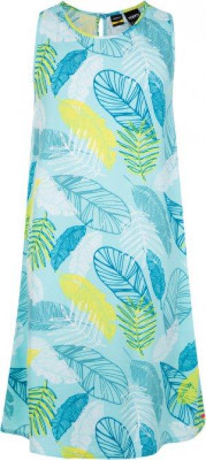 Платье для девочек , размер 158 Termit. Цвет: голубой