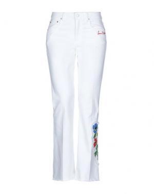 Джинсовые брюки SONIA RYKIEL. Цвет: белый