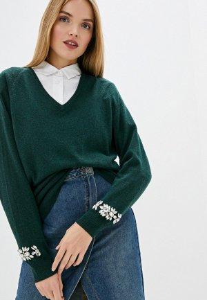 Пуловер Liu Jo. Цвет: зеленый