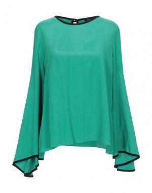 Блузка HANITA. Цвет: зеленый