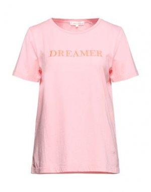 Футболка CHINTI & PARKER. Цвет: розовый